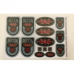 RC4WD Recon G6 Decal Sheet