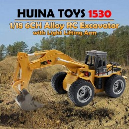Huina 1530 1:18 RC 6CH 2.4 Ghz