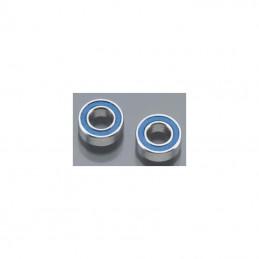 Ball bearings, blue rubber...
