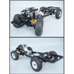RCRUN 1:10 Scale LC80 Metal...