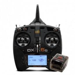 SPEKTRUM DX6e 6 Canais DSMX...