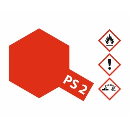 PS-2 Red Polycarbonate 100ml
