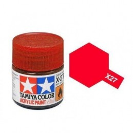 X-27 Clear Red Gloss 23ml