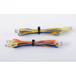 3MM Yellow LED Set (Pair)